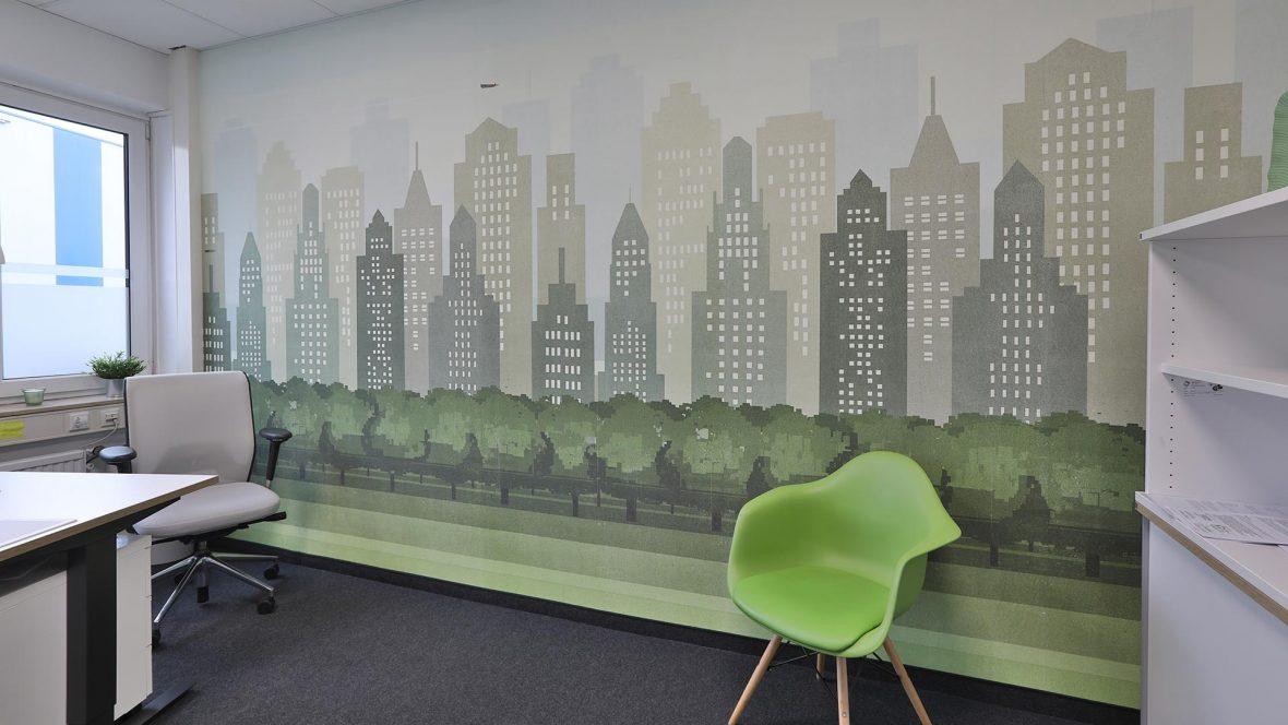 Wall Deco fuer Arbeitswelten LieblingsMaler HEYSE Hannover