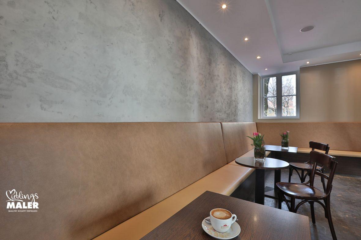 Cafe Goldstueck Hannover ReDesign Betonoptik Malerarbeiten Lieblingsmaler 02