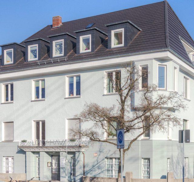 Fassadenanstrich Fassadensanierung Hannover Malerarbeiten 09