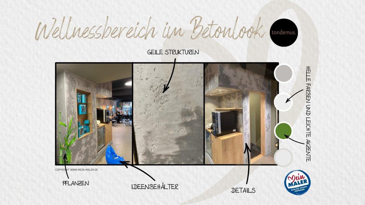 Betonoptik - Concrete Walls - Betonlook - Tondemus Hannover