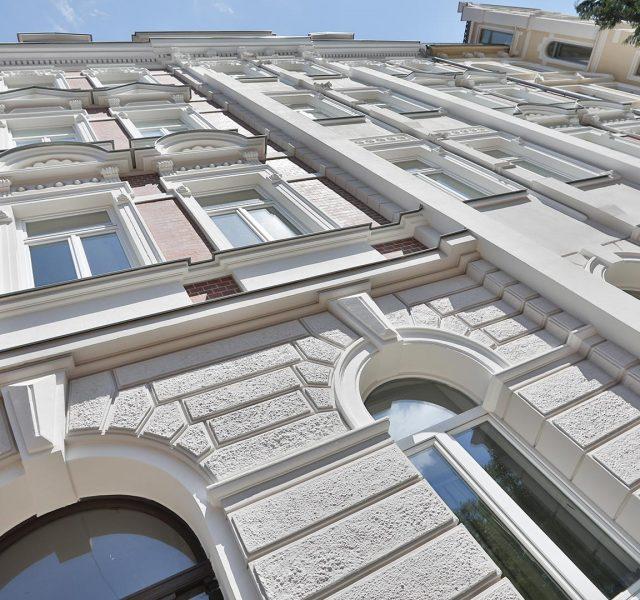 Fassadensanierung Denkmalschutz Fassade 1892 Fassadendoktor Boedekerstrasse Hannover List Oststadt 03