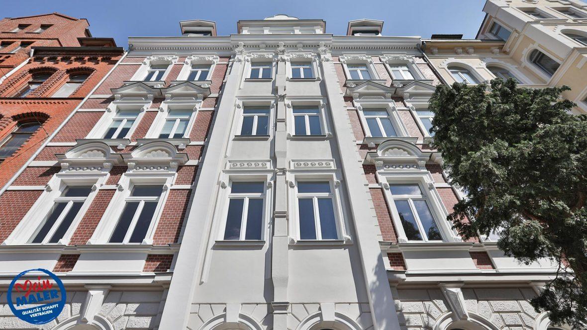 Fassadensanierung Denkmalschutz Fassade 1892 Fassadendoktor Boedekerstrasse Hannover List Oststadt 04