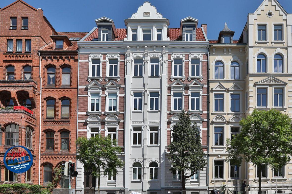 Fassadensanierung Denkmalschutz Fassade 1892 Fassadendoktor Boedekerstrasse Hannover List Oststadt 07