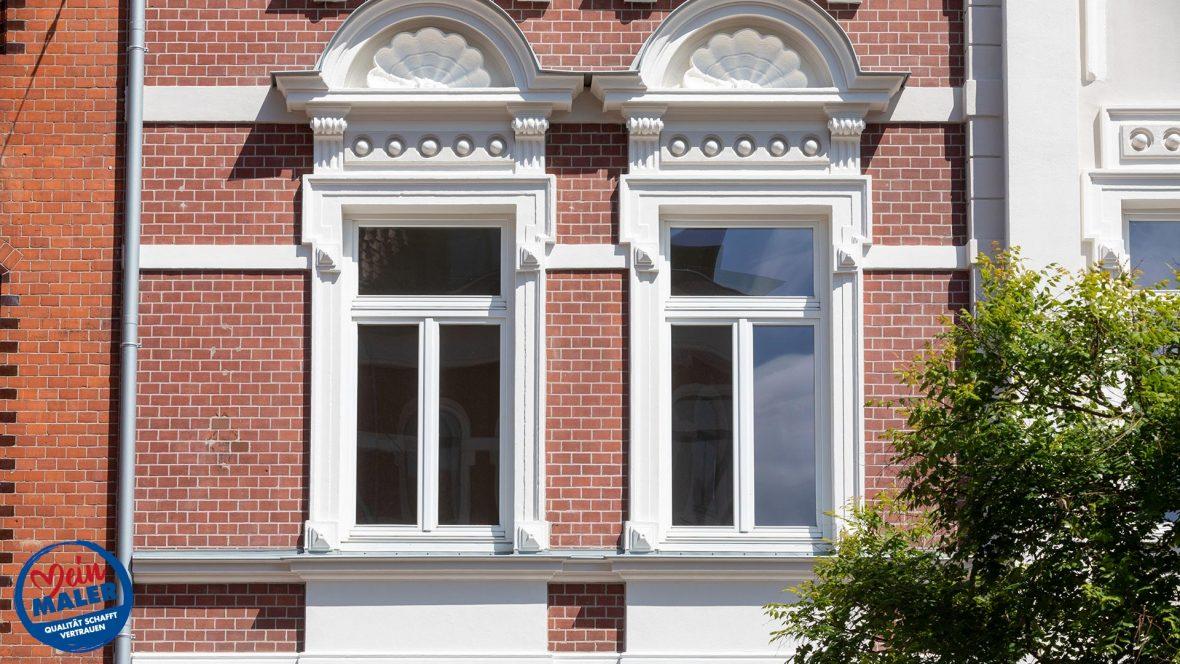 Fassadensanierung Denkmalschutz Fassade 1892 Fassadendoktor Boedekerstrasse Hannover List Oststadt 10